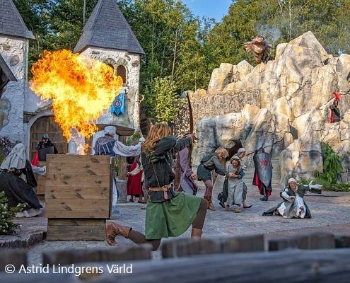 Astrid Lindgrens Welt in Vimmerby als Aktivität während Ihres Aufenthalts