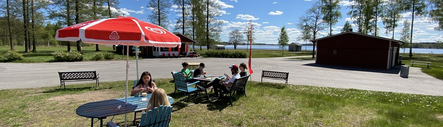 Hultsfred Strandcampings Bereich