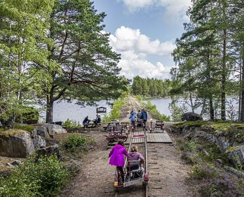 Dressurfahren in Hultsfred Småland