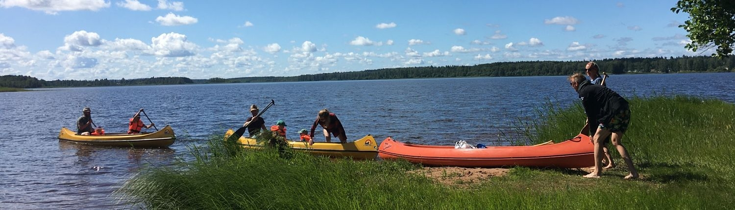 Canoeing in Hultsfred