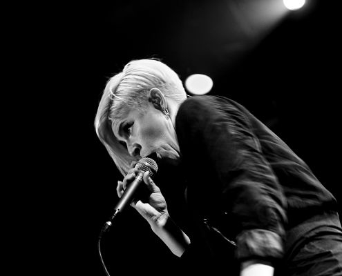 Robyn plays at the Hultsfred Festival