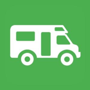 Bewertungen aus der App für das Parken von Wohnmobilen