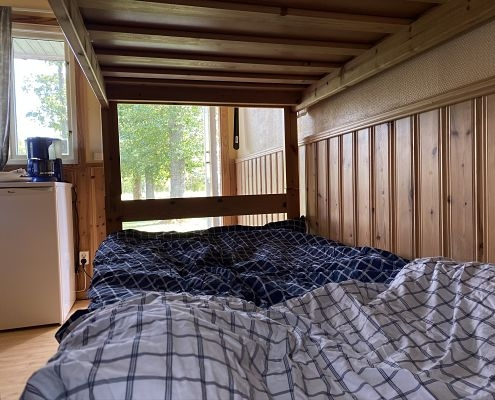 Bed in Hultsfred cottage