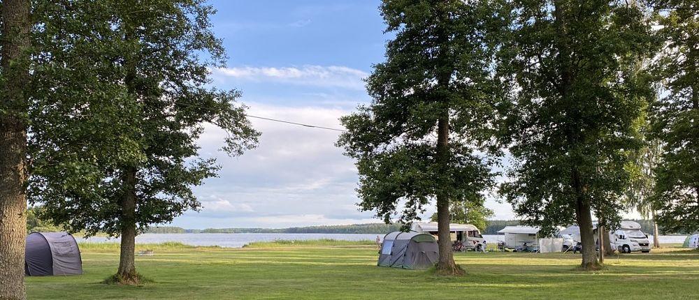 Zeltplatz auf dem Campingplatz