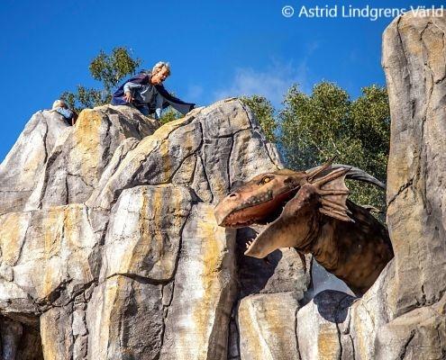 Astrid Lindgrens Värld inte långt från camping
