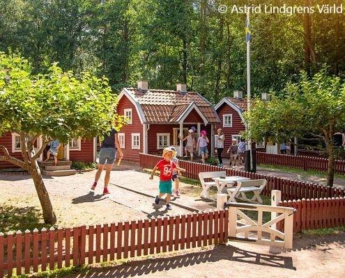 Bullerbyn på Astrid Lindgrens Värld