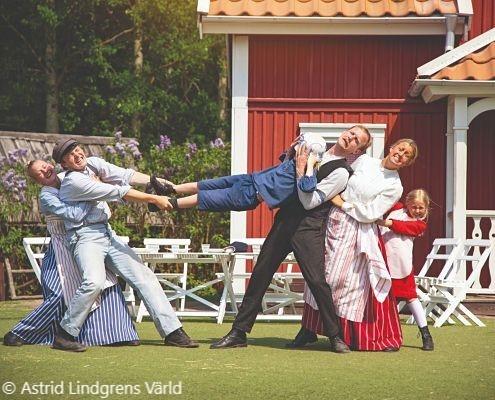 Astrid Lindgrens Värld ligger nära Hultsfreds camping