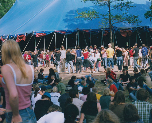 Atlantis scenen på Hultsfredsfestivalen