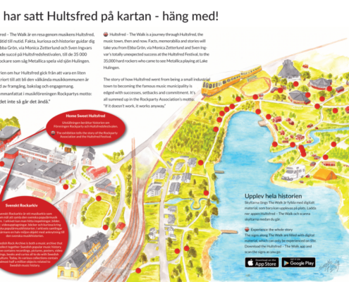 Karte und Informationen zu Hultsfred The Walk