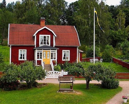Astrid Lindgren's filming location Katthult