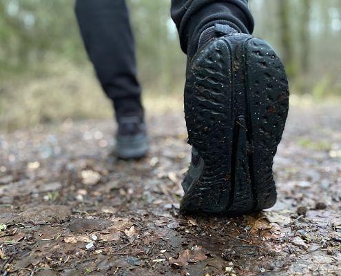 Motionsspår från campingen i Hultsfred