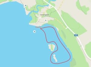 Paddle around the islands