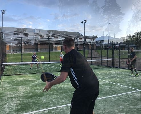 Padeltennis i Hultsfred