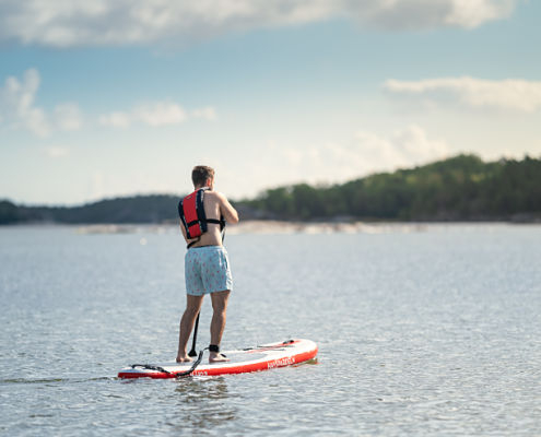 Rent SUP from the campsite in Hultsfred, Småland